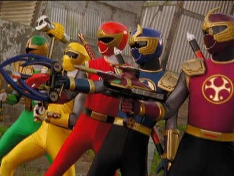 Tori vs the Evil Power Rangers (Power Rangers Ninja Storm)