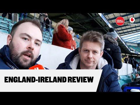 England-Ireland reaction from Twickenham   Andy Dunne and Neil Treacy