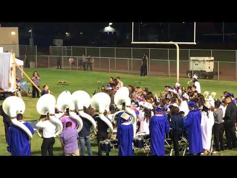 Class of 2018, Central Union High School Spartan Band - Seniors Final Performance.