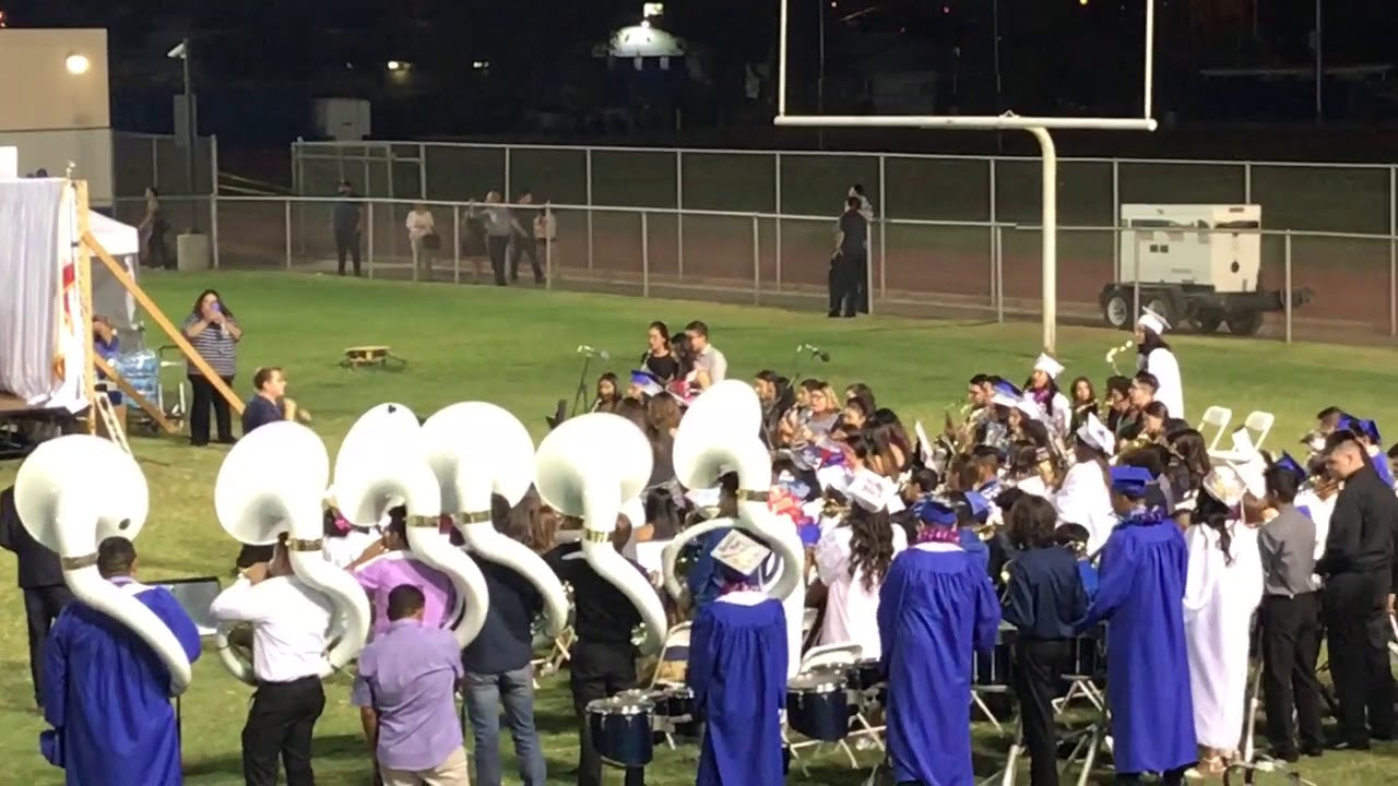 Class of 2018, Central Union High School Spartan Band - Seniors Songs,  Final Performance