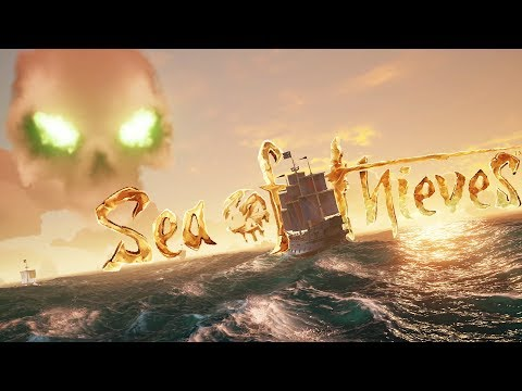 Sea of Thieves - Exploring Skull Fortress & Merchanting Chickens - Sea of Thieves Gameplay