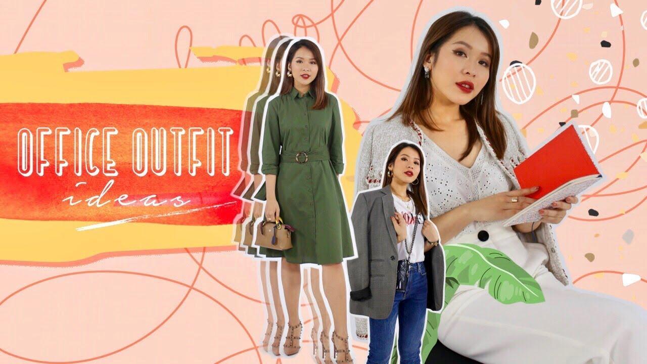 Đi làm mặc gì cho xinh? | OFFICE FASHUN | Letsplaymakeup