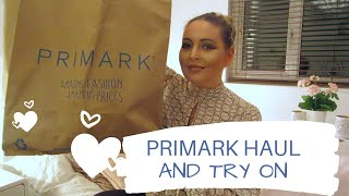 PRIMARK HAUL AND TRY ON  - Tanya Louise