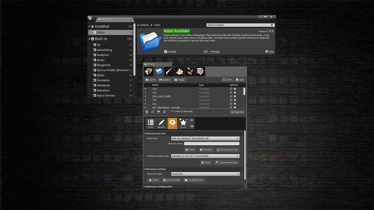 Asset assistant unreal engine 4 plugin youtube asset assistant unreal engine 4 plugin malvernweather Choice Image