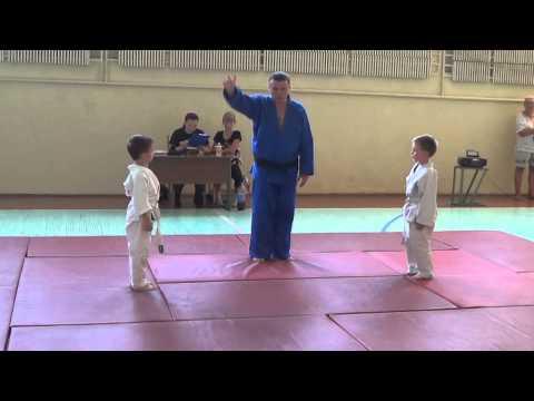 Первенство групп дошкольной физической подготовки по дзюдо. Часть - 2. Centre Judo Kids. Feodosiya