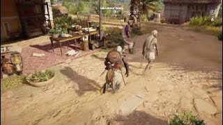 Assassin Creed origins the weasel side quest