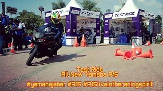 Test ride yamaha R15 #yamahajabar #R15 #R15liveintheracingspirit