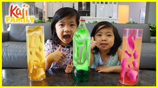Easy DIY Homemade Lava Lamp Science Experiment for kids!!!