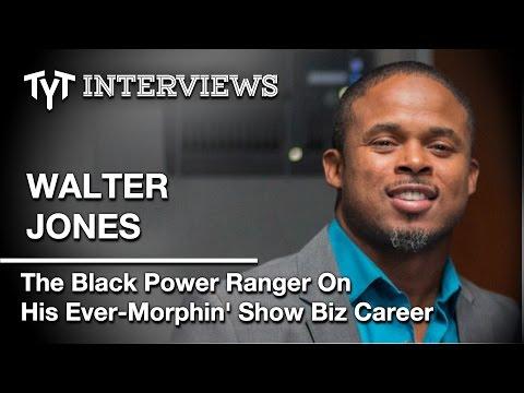 Walter Jones: The Man Behind The Black Power Ranger  w Cenk Uygur