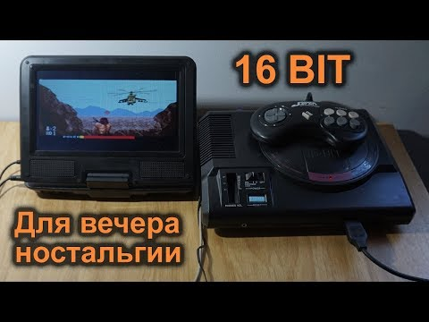 Оживление интересной «Sega MD» 16 Bit с сюрпризом внутри