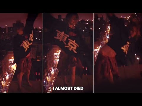 Paris Jackson Almost Fell Off a Rooftop | FULL VIDEO