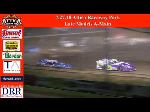 7.27.18 Attica Raceway Park Late Models A-Main