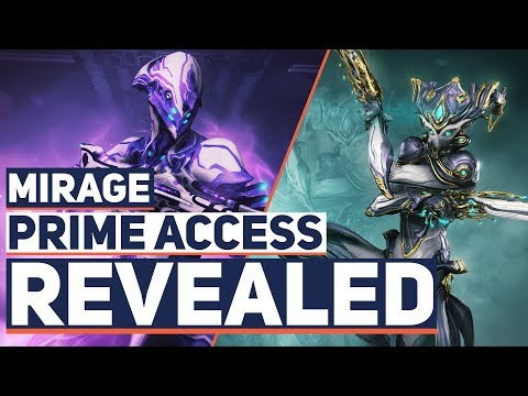 Warframe: Revealed Mirage Prime, Volt Buff & Skin, Focus 2.5 and Gara Nerf Inbound