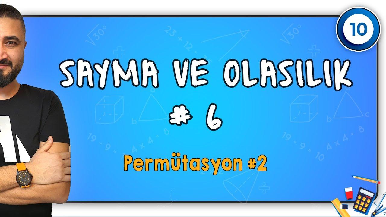 131)İlyas GÜNEŞ - Permütasyon Kombinasyon - I (TYT-Matematik) 2022