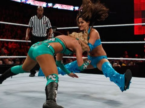 Raw: The Bella Twins vs. Lay-Cool