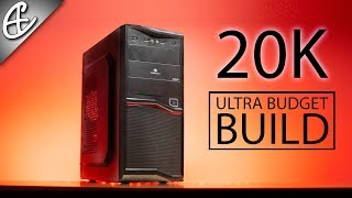 20000 Rupees Ultra Budget Gaming PC Build - Time Lapse!