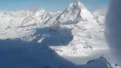 Panorama livecam webcam Matterhorn glacier paradise