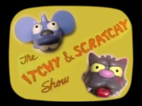 Itchy & Scratchy (Opening) | The Simpsons | Lego