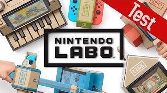 Nintendo Labo im Test: Kreativer Bastelspaß oder überflüssige Pappe?