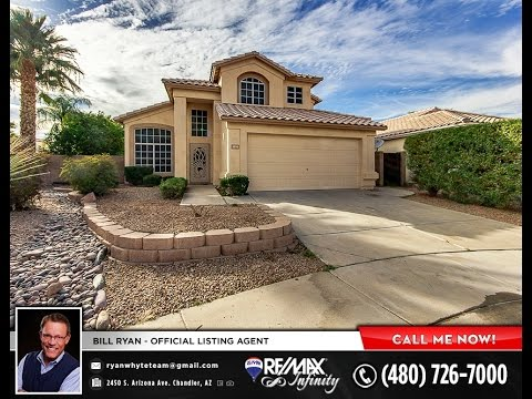 Chandler Real Estate - 1050 N Verano St - Pool!