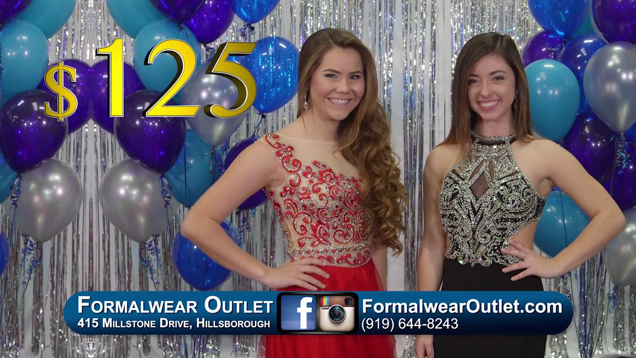 Prom Dresses 2017 - Formalwear Outlet Hillsborough, NC - YouTube