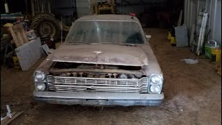 1966 Ford Galaxie 500 Barnfind Part 1