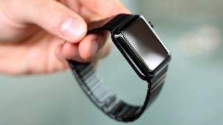 review space black apple watch