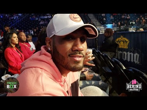 WOAH! JARRETT HURD SAYS DEONTAY WILDER WILL BREEZE THROUGH ANTHONY JOSHUA!