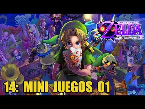 The Legend of Zelda: Majora's Mask 3D #14 - Mini juegos: recopilación 1 - Guía 100% en español