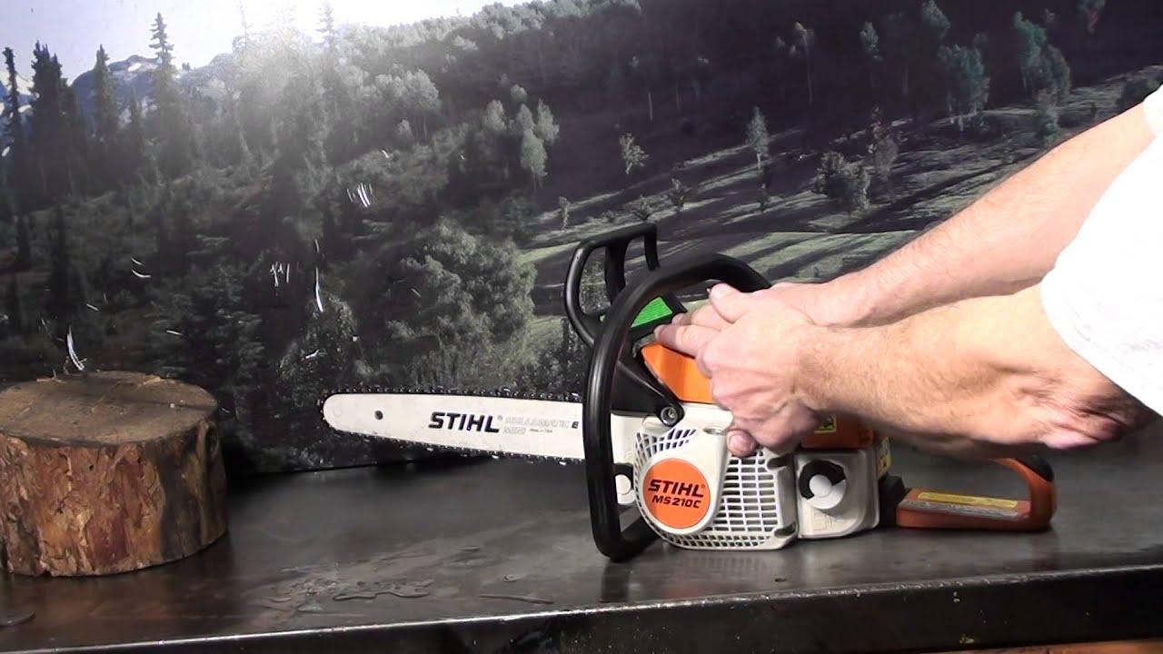 The Chainsaw Guy Talk Stihl Ms 210 Easy2start