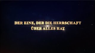 DER EINE, DER DIE HERRSCHAFT ÜBER ALLES HAT Doku-Trailer - Überlegungen zu Katastrophen