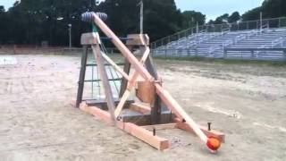 Cape Cod Pumpkin Catapult