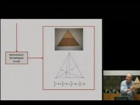 «Geometria per visualitzar, experimentar, interpretar, raonar... un repte!»