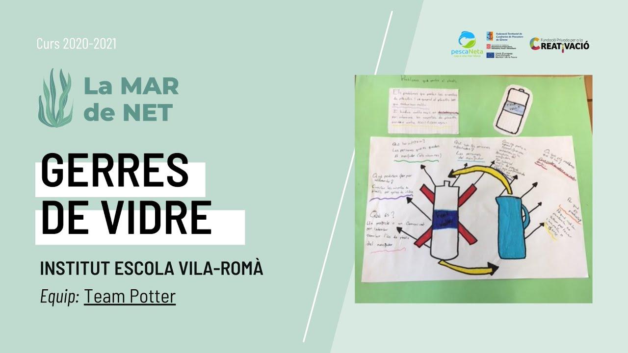 """Gerres de vidre"" - Institut Escola Vila-romà"