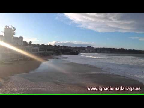 Groundswell in the Cantabrian Sea
