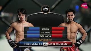 Kevin Belingon vs Reece McLaren