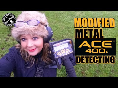 Garrett Ace 400i MODIFIED Metal Detecting - Game Changer