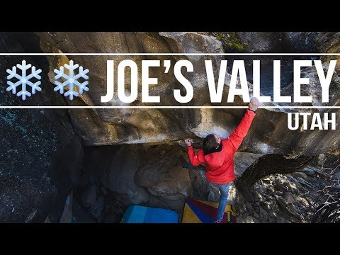 Daniel Woods + Paul Robinson - A Few Cold Days Bouldering In Joe's Valley (4K)