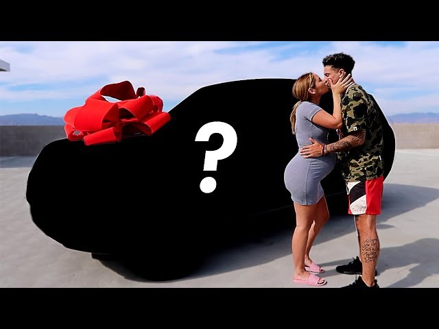 SURPRISING CATHERINE WITH A NEW CAR!!! **EMOTIONAL**