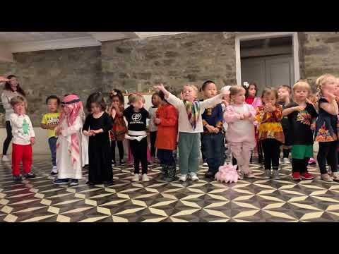 The Baltimore Montessori - International Day - I'd like to teach the world to sing