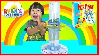 family fun game for kids kerplunk egg surprise toy marvel avengers ryan toysreview