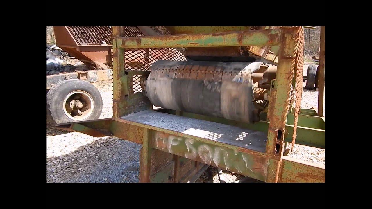 John deere portable top soil shredder screen plant for for Porta johns for sale
