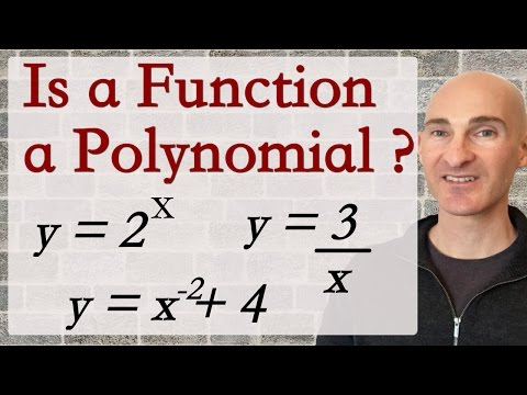 Determining if a Function is a Polynomial