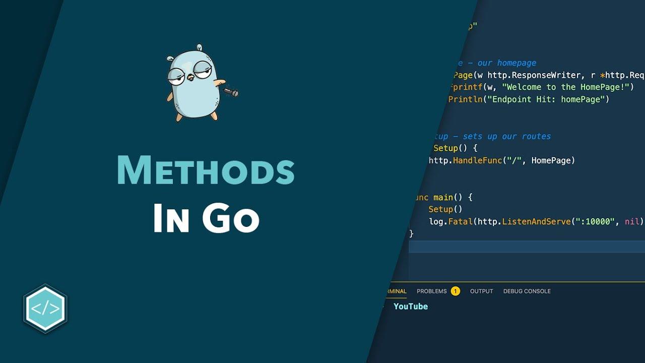 Methods in Go - Beginner's Guide to Go Course
