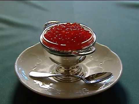 Red Caviar- Russian Delicacy