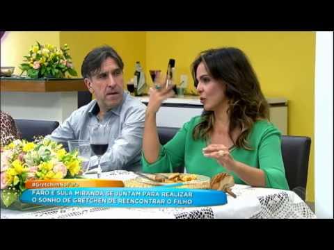 Sula Miranda ajuda Rodrigo Faro a pregar peça em Gretchen durante almoço