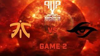 Fnatic vs Team Secret   Bo5   Grand Finals   PVP Esports Championship   Game 2