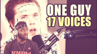 HE CALLED OUT BLACK GRYPH0N!!! One Guy, 17 Voices (Billie Eilish, Michael Jackson, & More (Reaction)