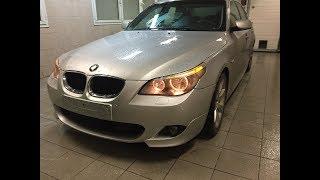 """BMW E60 Поставил """"М"""" бампера"""