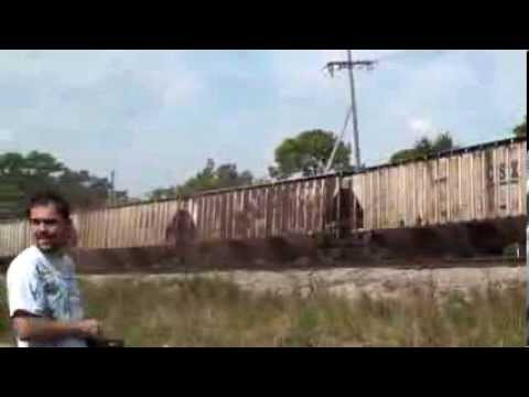 Thumbnail: Slow Motion Train Wreck - Oct 2010